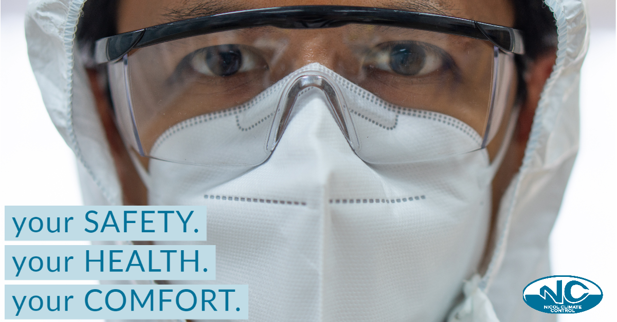 Your Safety. Your Health. Your Comfort.